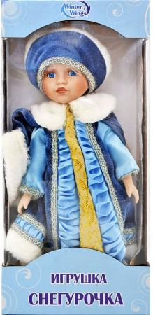 {1} кукла Winter Wings Игрушка СНЕГУРОЧКА, 30 см. пластик, полиэстр|4 30 см пластик полиэстер игрушка снегурочка 30 см пластик полиэстр 4