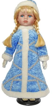 {1} кукла Winter Wings Игрушка СНЕГУРОЧКА, 40 см. пластик, полиэстр|5 40 см пластик полиэстер игрушка снегурочка 30 см пластик полиэстр 4