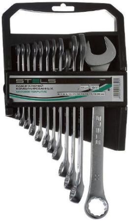 Набор комбинированных ключей STELS 15429 (6 - 22 мм) 12 шт. цены