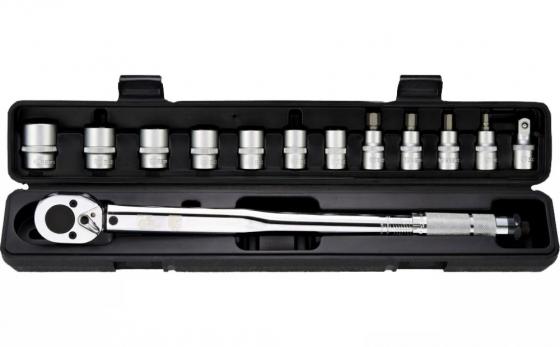 Ключ динамометрический BERGER BG-13STW с набором головок 13пр. 1/2 28-210Нм динамометрический ключ с цифровой индикацией 1 2 68 340нм 650мм jtc 4607
