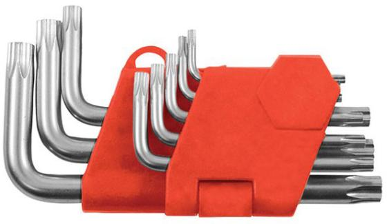 Набор торцевых ключей FIT 64001 звездочки 8 шт crv т5-т20 в пластиковом держателе irwin t10755 набор торцевых ключей 10 шт black