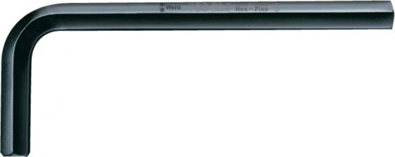 Ключ угловой WERA 027209 Hex-Plus, DIN 911 1 шт, 6 мм цены