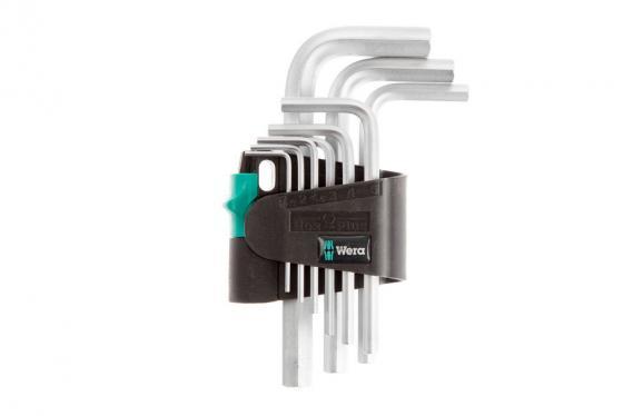 Набор ключей WERA WE-021406 для винтов с шпицем набор отверток wera we 031575 для винтов с крестовым шлицем