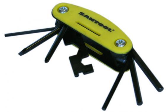 Вело-ключи SANTOOL 031657 шестигранники (набор 7шт.)