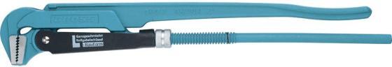 Ключ трубный рычажный GROSS 15605 №3 2 цельнокованный CrV, тип - L ключ трубный кобальт 647 437 2 500 мм рычажный тип l cr v