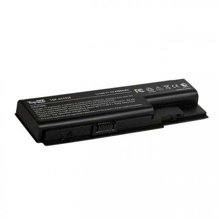 Аккумулятор для ноутбука Acer Aspire 5310, 5315G, 5520G, 5530, 5530G, 5710G Series. 11.1V 4400mAh 49Wh. AS07B71, LC.BTP00.007. TOP-AC5530 аккумулятор topon top ac58 для acer aspire 1360 1362 extensa 2001lm travelmate 2500 аккумулятор 14 8v 4400mah pn 909 2420