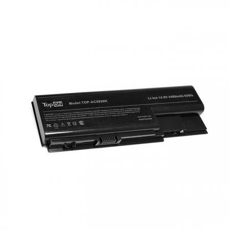 Аккумулятор для ноутбука Acer Aspire 5520, 5920, 6530, 7230E, 8730ZG, 8920 Series 4400мАч 14.8V TopON TOP-AC5920-15V hot mean well lrs 100 15 15v 7a meanwell lrs 100 15v 105w single output switching power supply