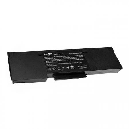 Аккумулятор для ноутбука Acer Aspire 1360, 1362, Extensa 2001LM, TravelMate 2500 Series 4400мАч 14.8V TopON TOP-AC58 аккумулятор sony np fv100a