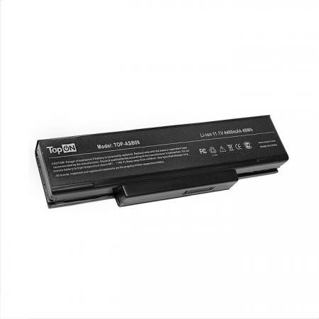 Аккумулятор для ноутбука Asus F2, M51, Z53, A9, A9T, M50, Pro31, S62, X70E, Z9 Series 4400мАч 11.1V TopON TOP-ASB09 аккумулятор для ноутбука asus p31 p41 u31 u41 x35 series 4400мач 14 4v topon top asu31