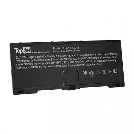 Фото - Аккумулятор для ноутбука HP ProBook 5330m Series 2800мАч 14.8V TopON TOP-5330M внешний аккумулятор для