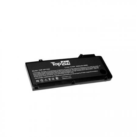 Аккумулятор для ноутбука Apple MacBook Pro 13.3 Series 5500мАч 10.95V TopON TOP-AP1322 аккумулятор для ноутбука apple macbook pro 13 3 series 10 95v 5500mah 60wh усиленный a1322