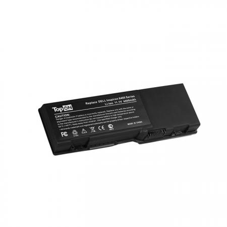 Аккумулятор для ноутбука Dell Inspiron 1501, 6400, E1505, Latitude 131L, Vostro 1000 Series 4400мАч 11.1V TopON TOP-D6400
