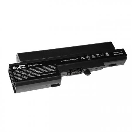 Аккумулятор для ноутбука Dell Vostro 1200 Series, Compal JFT00 4400мАч 11.1V TopON TOP-DL1200 аккумулятор для ноутбука asus p31 p41 u31 u41 x35 series 4400мач 14 4v topon top asu31