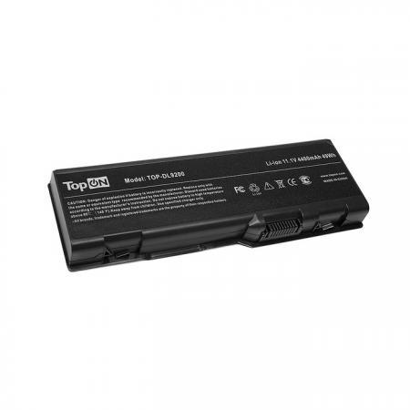 Аккумулятор для ноутбука Dell Inspiron 6000, 9200, 9300, 9400, E1705, XPS Gen2, M170, M1710, Precision M6300, M90 Series 4400мАч 11.1V TopON TOP-DL9200 аккумулятор для ноутбука apple macbook 13 a1331 2011 2012 a1342 mb374 mb375 mc024 mc118 mc207ll a mc233 mc234 mc371 mc372 mc373 series 5350мач 10 8v topon top a1342