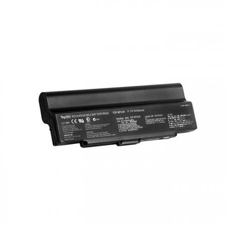 Аккумулятор для ноутбука Sony Vaio VGN-AR, VGN-CR, VGN-NR, VGN-SZ Series. 11.1V 10400mAh 115Wh, усиленный. VGP-BPS9, VGP-BPS9B. 6 элементной батареей для sony vaio vgp bps2 vgp bps2a vgp bps2a s vgp bps2b vgp bps2c