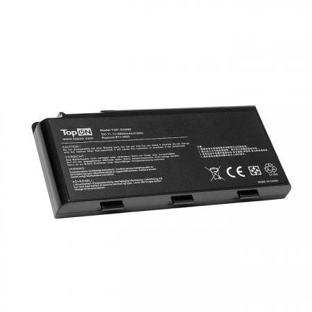 Аккумулятор для ноутбука MSI Erazer X6811, GX680, GX780, GT660, GT780 Series. 11.1V 6600mAh 73Wh. MIX780LP, B2923877. аккумулятор для ноутбука msi erazer x6811 gx680 gx780 gt660 gt780 series 11 1v 6600mah 73wh mix780lp b2923877