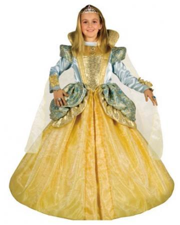 Карнавальный костюм ПРИНЦЕССА НА БАЛУ, полиэстр, размеры: на 8, 10 лет
