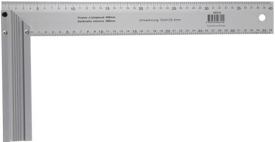 Угольник SKRAB 40314 400мм столярный
