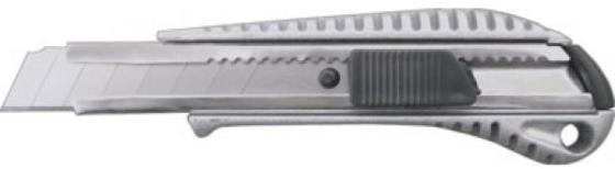 Нож FIT 10250 технический 18мм усиленный металлич.корпус нож технический fit 5 запасных лезвий 18 мм