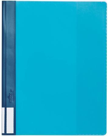 Папка-скоросшиватель А4, цвет-голубой блузка женская oodji collection цвет голубой 21411114 46422 3370c размер 42 170 48 170