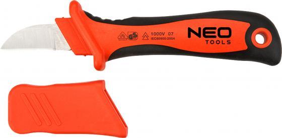 Нож NEO 01-550 электромонтажника 1000В 195мм нож электромонтажника neo 1000 в 195 мм 01 550
