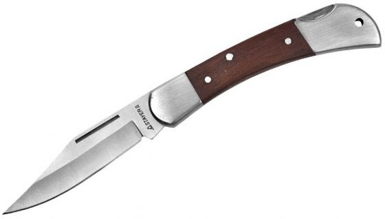цены Нож STAYER 47620-1_z01 складной с деревянными вставками средний