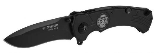 Нож ЗУБР 47710 премиум хранитель складной металлическая рукоятка наконечник для стекол 210/85мм нож складной зубр премиум титан 47719