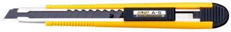 цена на Канцелярский нож OLFA OL-A-5 нерж.сталь пластик 0.9см