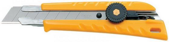 цена на Канцелярский нож OLFA OL-L-1 пластик нерж.сталь
