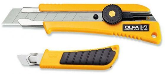Канцелярский нож OLFA OL-L-2 нерж.сталь пластик нож строительный olfa ol cmp 1