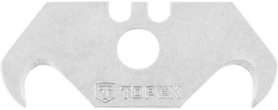 Лезвия TOPEX 17B2H5 с трапецевидным крюком 5штук стусло topex 10a822