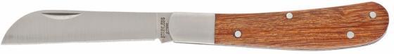 Нож PALISAD 79003 садовый 173мм складной прямое лезвие дерев.ручка нож palisad 79001