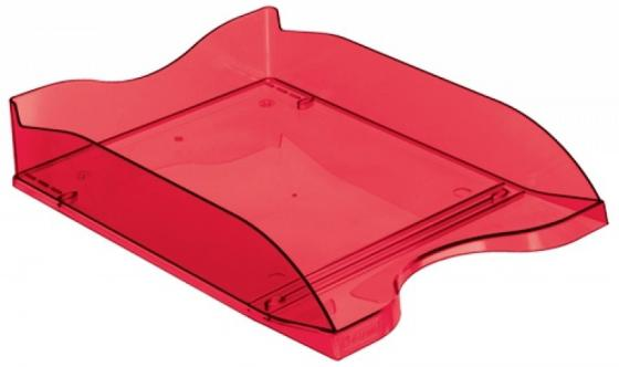 """Лоток для бумаг СТАММ ЛЮКС, горизонтальный, тонированный """"Вишня"""" attache лоток для бумаг яркий офис вишня"""