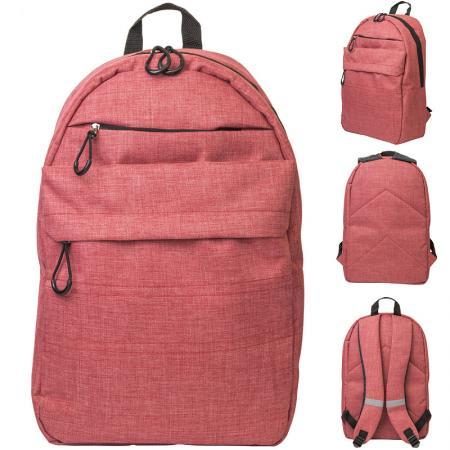 цена Рюкзак ACTION городской, размер 41x28x14.5 см, мягкая спинка, красный, унисекс онлайн в 2017 году