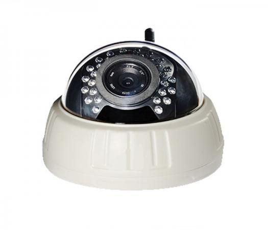 Камера IP Zodiak 911W CMOS 1/4 2.8 мм 1280 x 720 H.264 Wi-Fi Ethernet LAN серый suneyes sp t05ewp 1 4 cmos 0 3mp ip camera w 11 ir led wi fi tf white eu plug