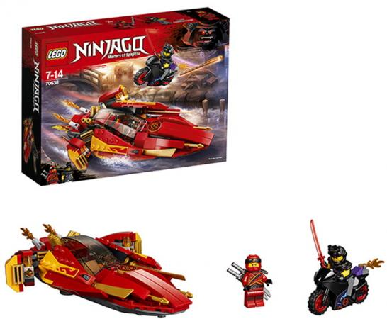 Конструктор LEGO 70638 257 элементов конструктор lego ninjago катана v 11 70638