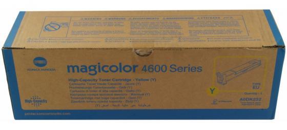 Тонер-картридж Konica-Minolta mc4650/4690MF/4695MF желтый 8K oki 46507520 black тонер картридж для c612 8k