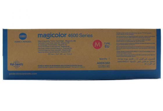 Тонер-картридж Konica-Minolta mc4650/4690MF/4695MF красный 8K oki 46507520 black тонер картридж для c612 8k