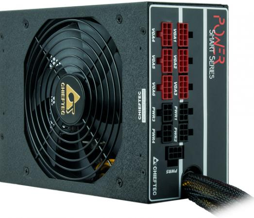Блок питания ATX 1450 Вт Chieftec GPS-1450C блок питания accord atx 1000w gold acc 1000w 80g 80 gold 24 8 4 4pin apfc 140mm fan 7xsata rtl