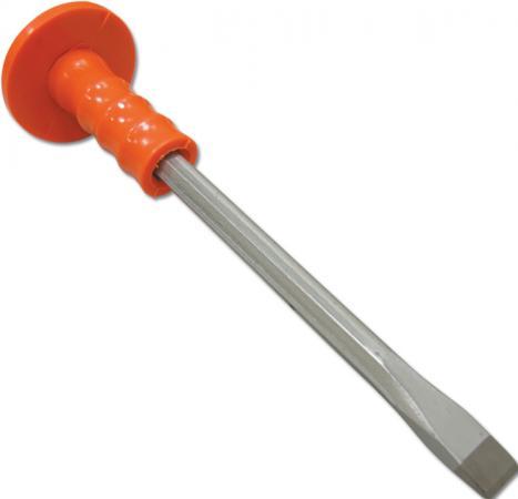 Зубило SANTOOL ПРОФИ 031001-001-300 с протектором 300мм алюминиевая линейка с пластмассовой ручкой 2 глазка 1000 мм santool 050407 001 100