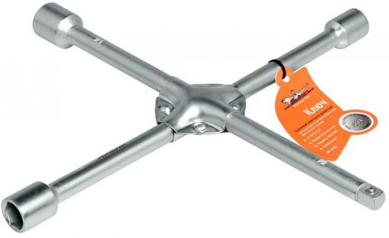 Ключ AIRLINE AK-B-02 баллонный крестовой усиленный 17*19*1/2 ключ балонный airline ak b 02