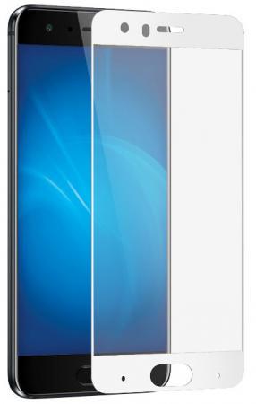Закаленное стекло с цветной рамкой (fullscreen) для Huawei Honor 9 DF hwColor-20 (white) закаленное стекло с цветной рамкой fullscreen для lg k10 df lgcolor 01 white