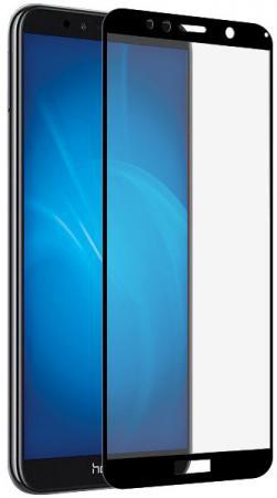 Закаленное стекло с цветной рамкой (fullscreen) для Huawei Honor 7A/Y5 (2018) DF hwColor-58 (black) закаленное стекло с цветной рамкой fullscreen для huawei honor 7a y5 2018 df hwcolor 58 black