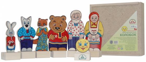 Игровой набор КРАСНОКАМСКАЯ ИГРУШКА Колобок логическая игрушка краснокамская игрушка ли 01 лягушка