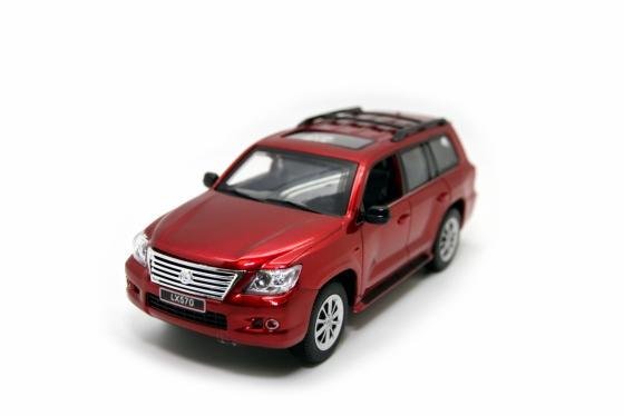 Машинка на радиоуправлении Balbi Lexus LX 570 1:24 красный от 3 лет пластик, металл HQ20130 автомобиль balbi автомобиль черный от 5 лет пластик металл rcs 2401 a