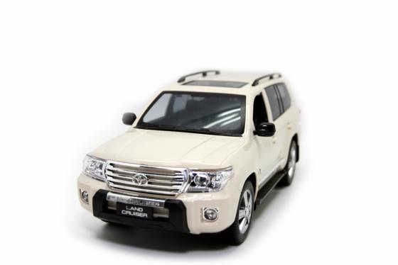 Машинка на радиоуправлении Balbi Toyota land cruiser 1:14 бежевый от 3 лет пластик, металл HQ20135 литой диск replikey rk95073 toyota land cruiser 200 9x20 5x150 d110 1 et45 hb
