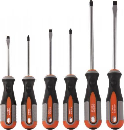 Набор отверток OMBRA 975006 6 предметов набор отверток ombra round grip 975008 8 предметов 55289