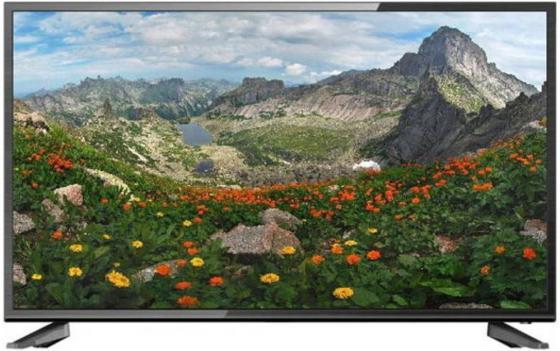 Телевизор LED 43 Hartens HTV-43F011B-T2 черный 1920x1080 50 Гц ahd камера htv htv t5205ahd