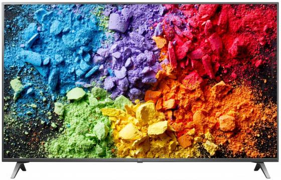 Телевизор 49 LG 49SK8000 серебристый 3840x2160 50 Гц Wi-Fi Smart TV RJ-45 Bluetooth 4k uhd телевизор lg 49 uj 740 v