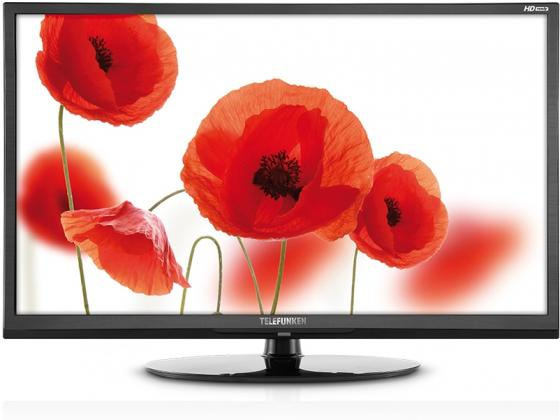 "Телевизор LED Telefunken 65"" TF-LED65S37T2SU черный/Ultra HD/50Hz/DVB-T2/DVB-C/DVB-S2/USB/WiFi/Smart TV (RUS)"